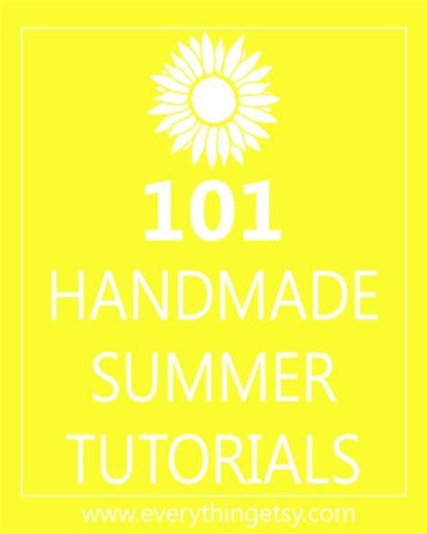 diys for summer diy crafts 101 handmade summer tutorials