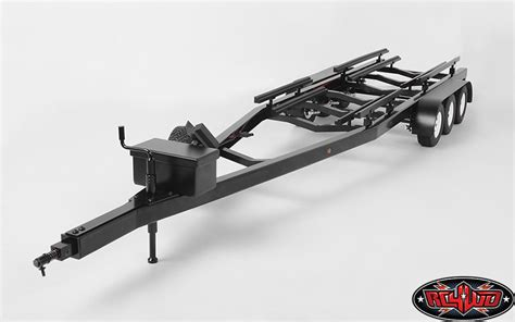 Traxxas Rc Boat Trailer by Rc4wd Bigdog 1 10 Triple Axle Scale Boat Trailer Rc Car
