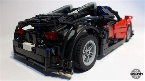 lego bugatti veyron lego technic creations by fosapifi bugatti veyron 16 4 moc