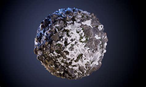 3D Rock Snow Cliff Seamless PBR Texture | CGTrader