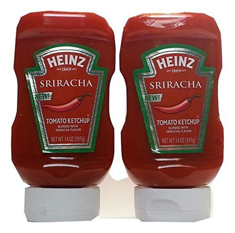 Price history: Heinz Sriracha Tomato Ketchup (2 Pack ...