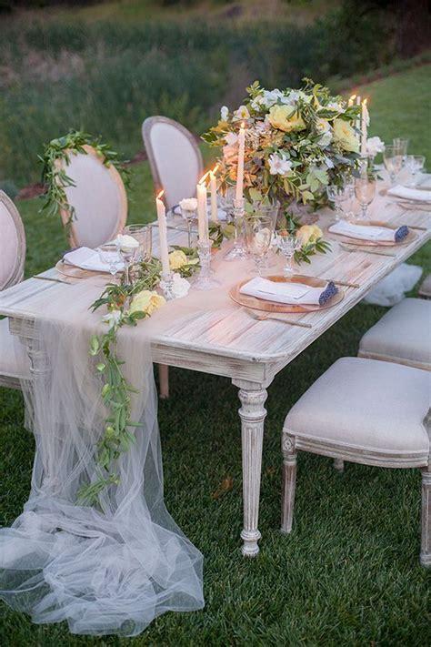 Soft Romantic Garden Wedding Ideas Outdoor wedding