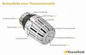 Durchflussmenge Berechnen Druck : thermostatventile funktion einstellung installation kesselheld ~ Themetempest.com Abrechnung