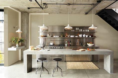 cuisine industrielle design cuisine style industriel une beauté authentique