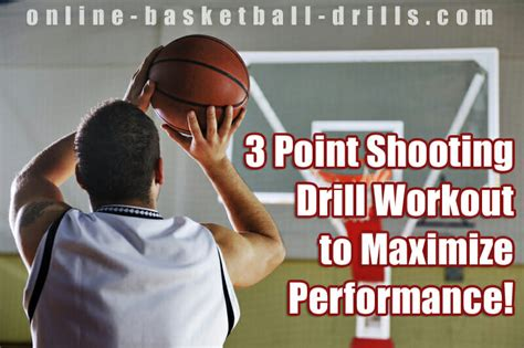 point shooting drill workout  maximize performance