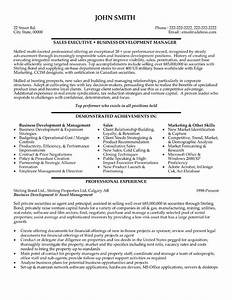 Sales executive resume template premium resume samples for Executive resume format download