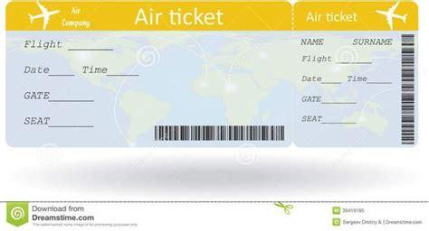international plane ticket template google search hot