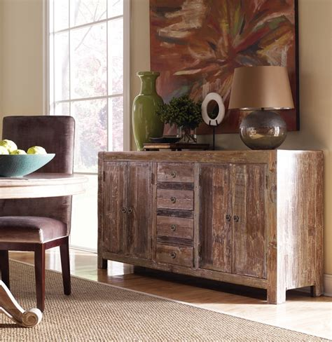 Teak Sideboard Buffet by Hton Rustic Teak Wood Buffet Sideboard Zin Home