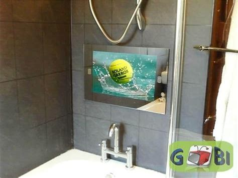 Waterproof Mirror Tv Bathroom by 19 Inch Waterproof Bathroom Mirror Tv Tw1901m Rimete