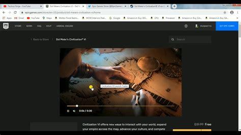 Civilisation 6 Free on Epic Games - YouTube