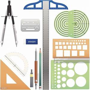 Drafting Tools High-res Vector Graphic