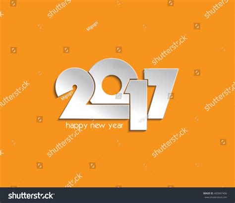 flyers numbers creative vector 2017 numbers design for your greetings