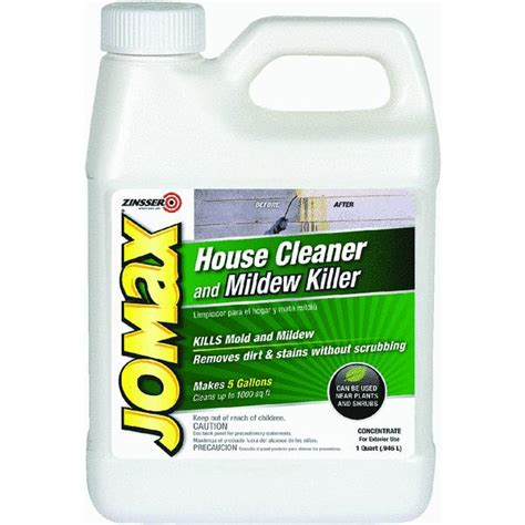 Jomax Deck And Fence Wash Msds by Jomax House Cleaner And Mildew Killer Mildewcide Ebay