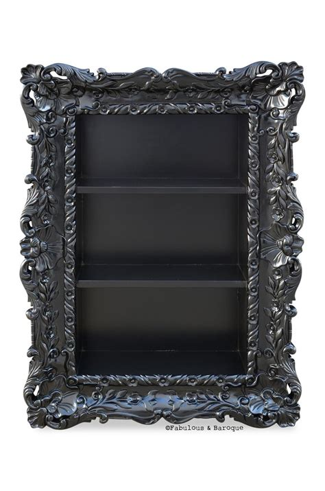 Wall Etagere by Felicia Wall Mounted Etagere Black Fabulous And Baroque