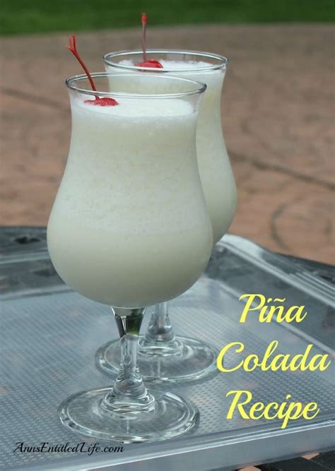 pina colada recipes pi 241 a colada recipe a delightful blend of rum coconut pineapple and whipping delightish