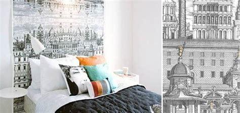 papier peint chambre inspiration des papiers peint originaux dans les chambres