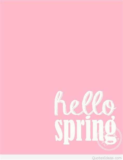 Hello Spring Pictures, Photos And Wallpapers 2016