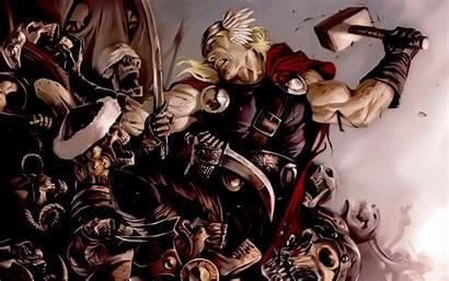 Thor Marvel Wallpapers Comic Comics Desktop Backgrounds