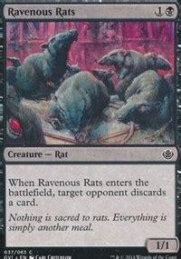 Rat Deck Mtg Tcgplayer by Ravenous Rats Duel Decks Anthology Magic The