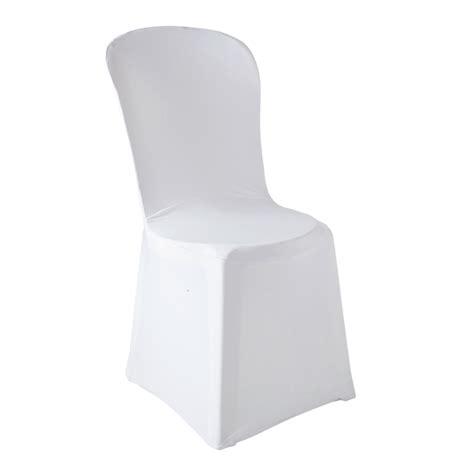 housse de chaise blanche location housse de chaise blanche en lycra abc location