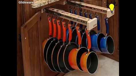 storage for pots and pans in the kitchen pull out cabinet organizer for pots and pans 9899