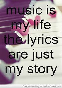 Music always makes you happy, and the lyrics flow like a ...