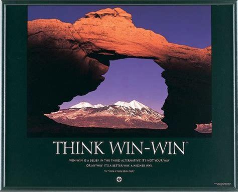 win win franklin coveys habit   winwin