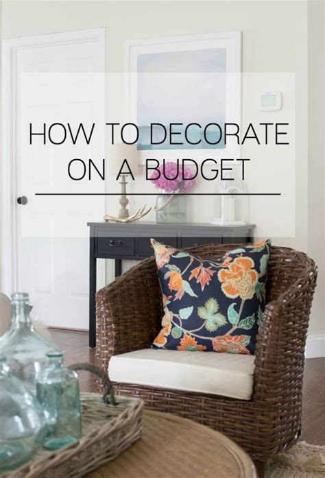 Decorating On A Budget  Making Home Base