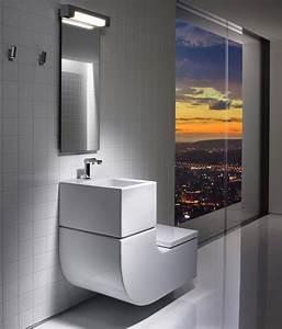 Wc Lave Main Intégré : w w washbasin wc toilets from roca architonic ~ Dailycaller-alerts.com Idées de Décoration