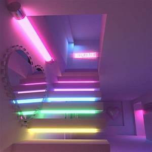 Neon Deco Chambre : pingl par eichiko sur everything pinterest n on maison et deco ~ Teatrodelosmanantiales.com Idées de Décoration