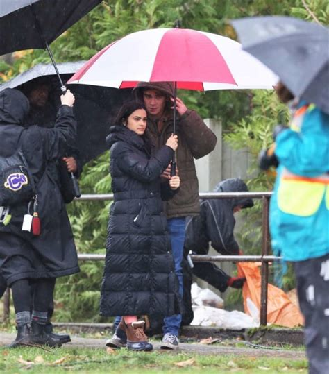 k j apa and camila mendes camila mendes and kj apa filming riverdale 14 gotceleb