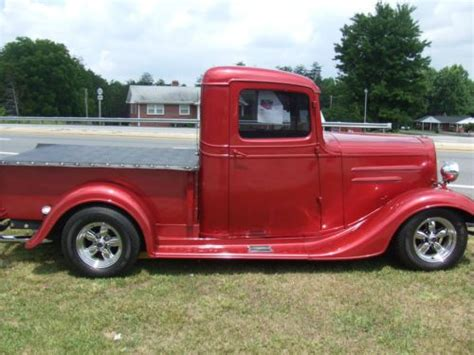 Sell Used Super Nice 1934 Chevy Pickup Truck Hot Rod 327
