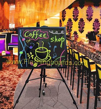 Coffee Signs Business Fast Boards Neon Advertising