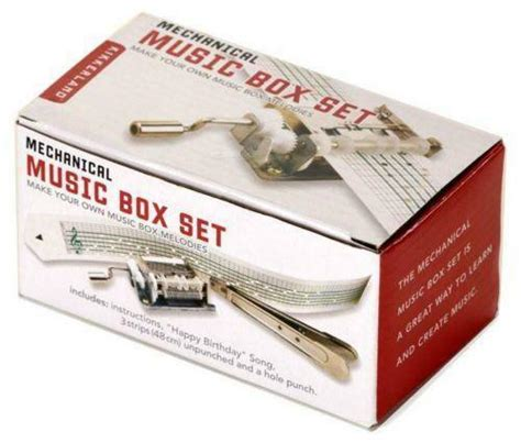 Is a small music publisher in randolph, vermont run by giovanni and sierra tabor. Kikkerland Music Box | eBay