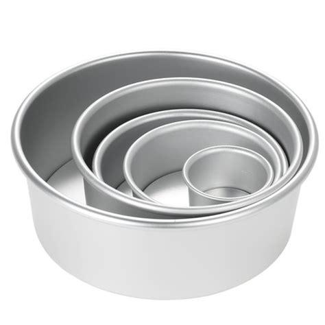 cake pan tin mould baking heavy silver aluminium pans indiamart round