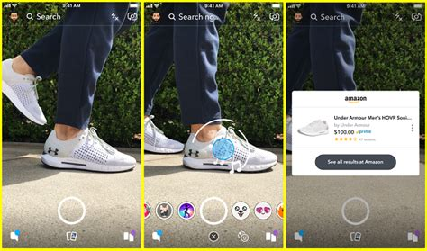 Snapchat ajoute l'intégration de nouvelles Amazon ...