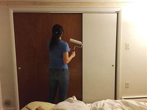 diy faux barn doors hollow door makeover east