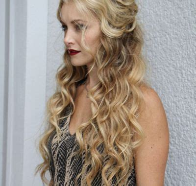 best 25 prom hairstyles down ideas on pinterest