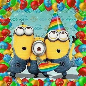 Birthday Minions | Graphics & Clip Art | Pinterest ...