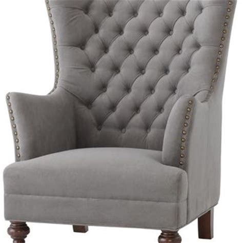 delia tufted wingback chair wing chair from home decorators