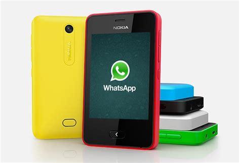 whatsapp finally available for nokia asha 501 techglimpse
