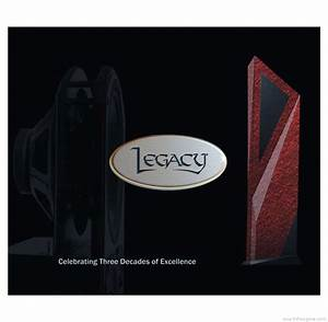 Legacy Reference Guide Product Catalogue