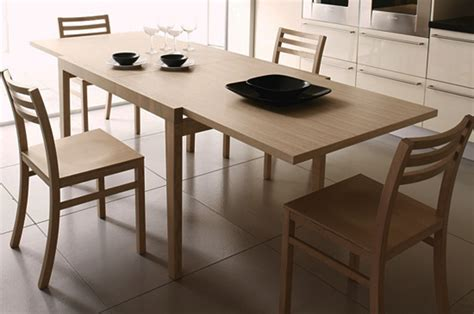 Poker Extendable Kitchen Table 120x90cm In