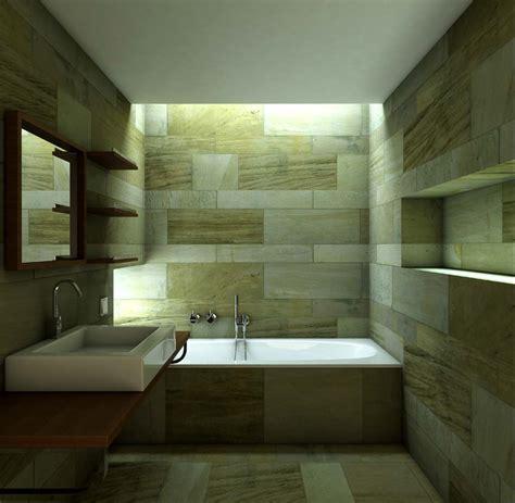 bano minimalista diseno interior render arquitectos