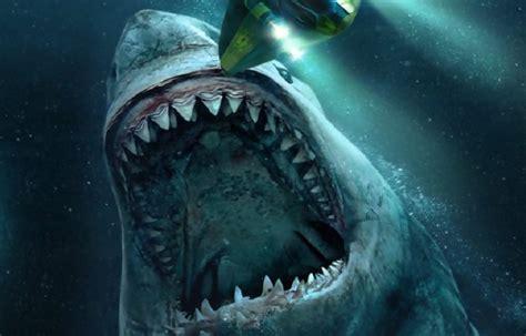 jason statham  son requin geant teaser de meg en eaux