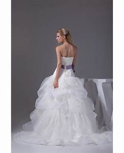 cascading ruffles organza sweetheart wedding dress with With cascading ruffles wedding dress