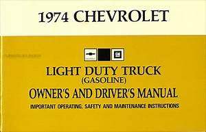 1974 Chevrolet Pickup  Blazer  Suburban Wiring Diagram