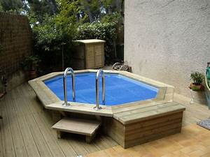piscine semi enterree acier rectangulaire architecture d With terrasse en bois pour piscine hors sol 6 installation creation de piscine en bois sur mesure bluewood