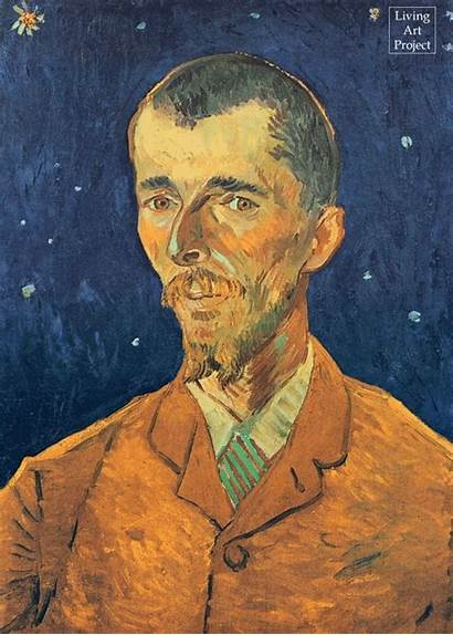 Gogh Van Portrait Boch Eugene Paintings 1888