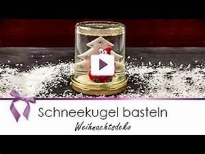 Weihnachtsdeko Ideen Selbermachen : weihnachtsdeko schneekugel selber basteln danato youtube ~ Orissabook.com Haus und Dekorationen